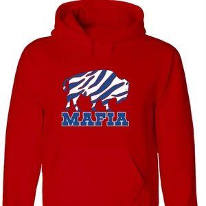 Buffalo Bills Mafia Zubaz Hooded Sweatshirt